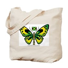Jamaica Butterfly Tote Bag