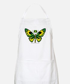 Jamaica Butterfly BBQ Apron