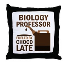 Biology Professor (Funny) Gift Throw Pillow