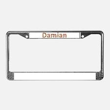 Damian Fiesta License Plate Frame