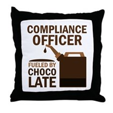 Compliance Officer (Funny) Gift Throw Pillow