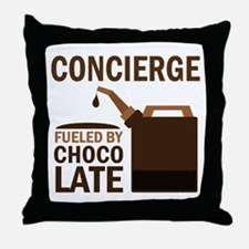 Concierge (Funny) Gift Throw Pillow