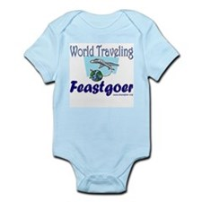 World Traveling Feastgoer Infant Creeper