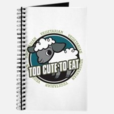 Too Cute to Eat Sheep Journal