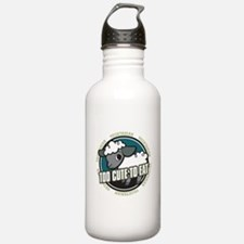 Too Cute to Eat Sheep Water Bottle