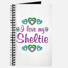 Love My Sheltie Journal