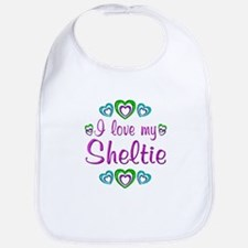 Love My Sheltie Bib