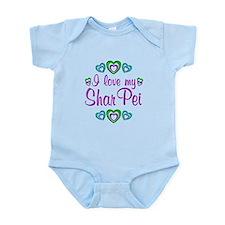 Love My Shar Pei Infant Bodysuit