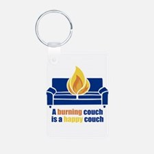 West Fracking Virginia Keychains