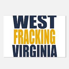 West Fracking Virginia Postcards (Package of 8)