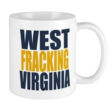 West Fracking Virginia Mug