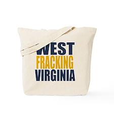 West Fracking Virginia Tote Bag