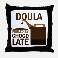 Doula (Funny) Gift Throw Pillow