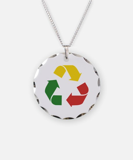 Cool African colors Necklace