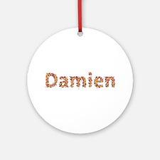 Damien Fiesta Round Ornament