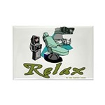 Dental Relax Rectangle Magnet (10 pack)