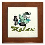 Dental Relax Framed Tile