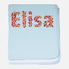 Elisa Fiesta baby blanket