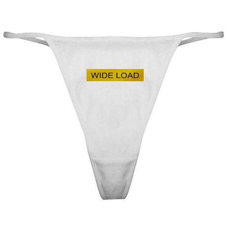 Wide Load Classic Thong