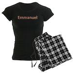 Emmanuel Fiesta Women's Dark Pajamas