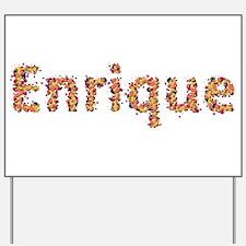 Enrique Fiesta Yard Sign
