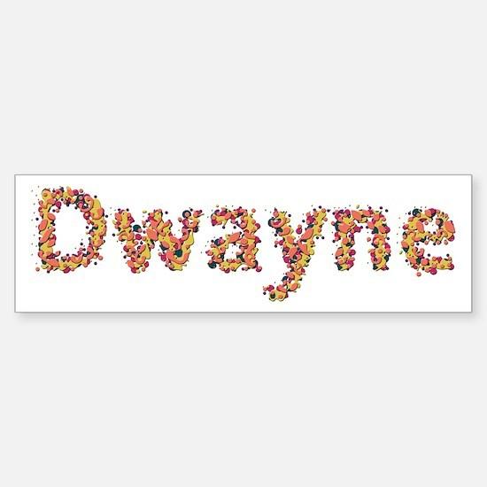 Dwayne Fiesta Bumper Bumper Bumper Sticker
