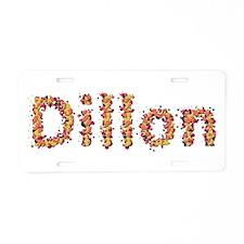 Dillon Fiesta Aluminum License Plate