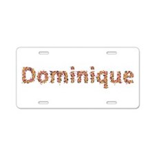 Dominique Fiesta Aluminum License Plate