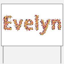 Evelyn Fiesta Yard Sign