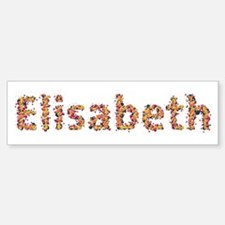 Elisabeth Fiesta Bumper Bumper Bumper Sticker