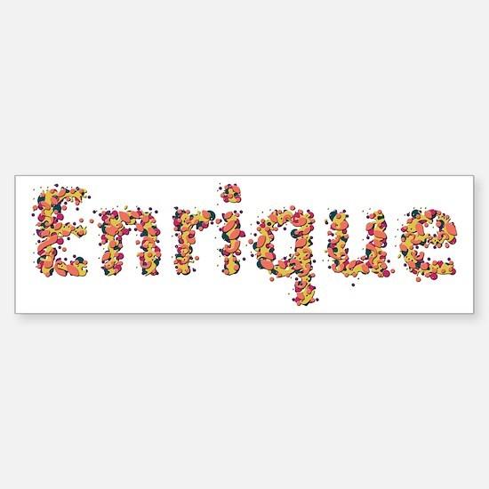 Enrique Fiesta Bumper Bumper Bumper Sticker