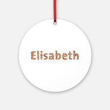 Elisabeth Fiesta Round Ornament