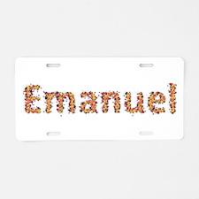Emanuel Fiesta Aluminum License Plate