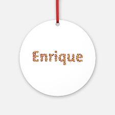Enrique Fiesta Round Ornament