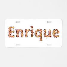 Enrique Fiesta Aluminum License Plate