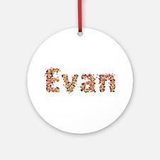 Evan Fiesta Round Ornament