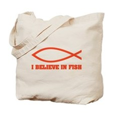 I believe in fish Tote Bag