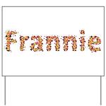 Frannie Fiesta Yard Sign