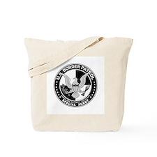 Secure Borders US Border Patr Tote Bag
