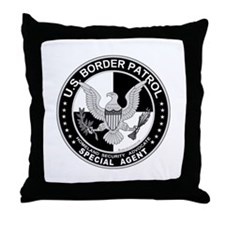 Secure Our Borders US Border  Throw Pillow