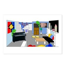 Primary Room Postcards (Package of 8)