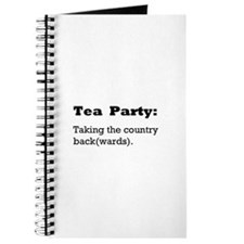 Tea Party Slogan Journal