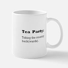 Tea Party Slogan Small Small Mug