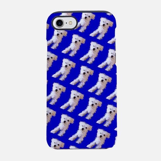 Munchin Maltese Blue 4Selia iPhone 7 Tough Case