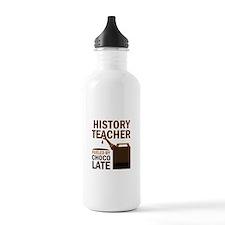History Teacher (Funny) Gift Water Bottle
