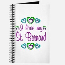 Love My St. Bernard Journal