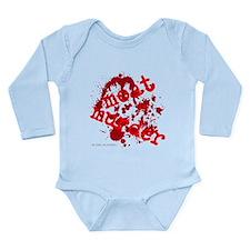 'Meat Is Muder' Long Sleeve Infant Bodysuit