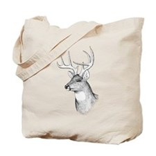8 Point Buck Tote Bag