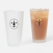 Disc New Orleans Drinking Glass
