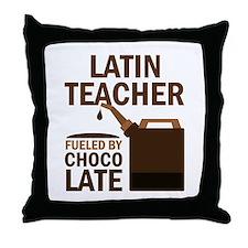 Latin Teacher (Funny) Gift Throw Pillow